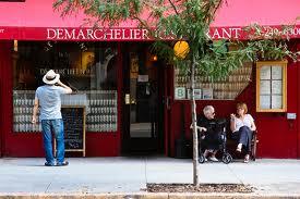 Demarchelier. Restaurant Français à New York.