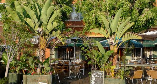 French Market Cafe. Marche cafe français a Venice californie