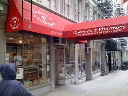 Cherry's Pharmacy. Pharmacie Française à New York