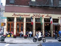 Felix. Restaurant et Bar Français à New York.