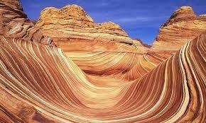la vague en Arizona. Voyager aux Etats-Unis